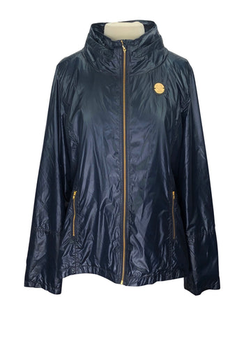 front view of Asmar Equestrian Brooklyn Jacket in Midnight Navy