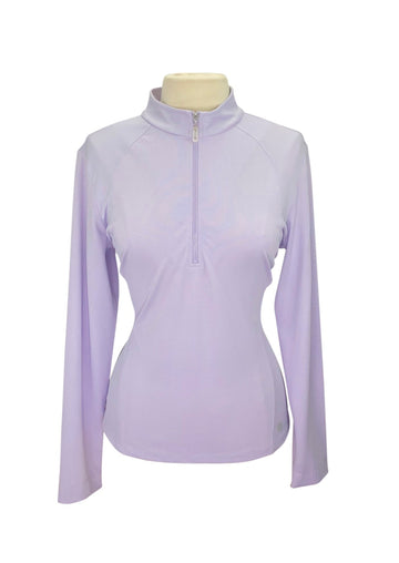 front view of Bette and Court Swing Performance Top in Lavender