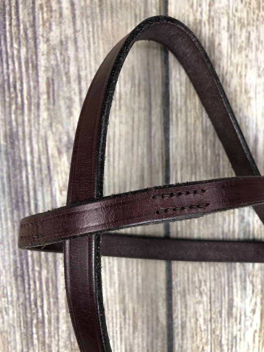 KL Select Flat Standing Martingale in Australian Nut - Middle Piece View
