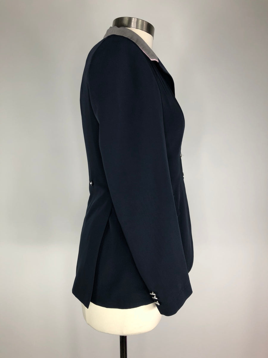 Grand Prix TechLite Euro Show Jacket in Navy - Women's 12/US 6R Slim | S