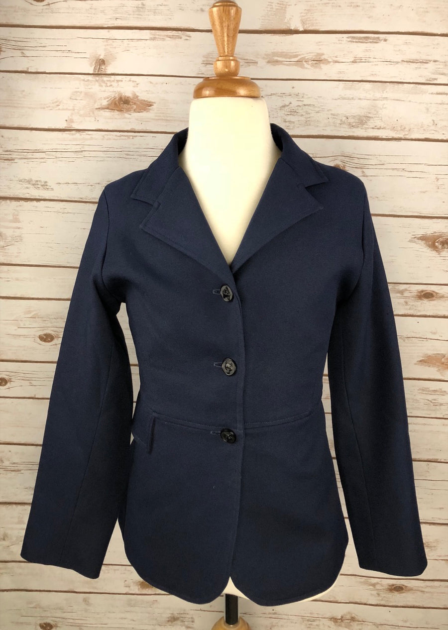 Dressage Jacket in Navy -  Front View