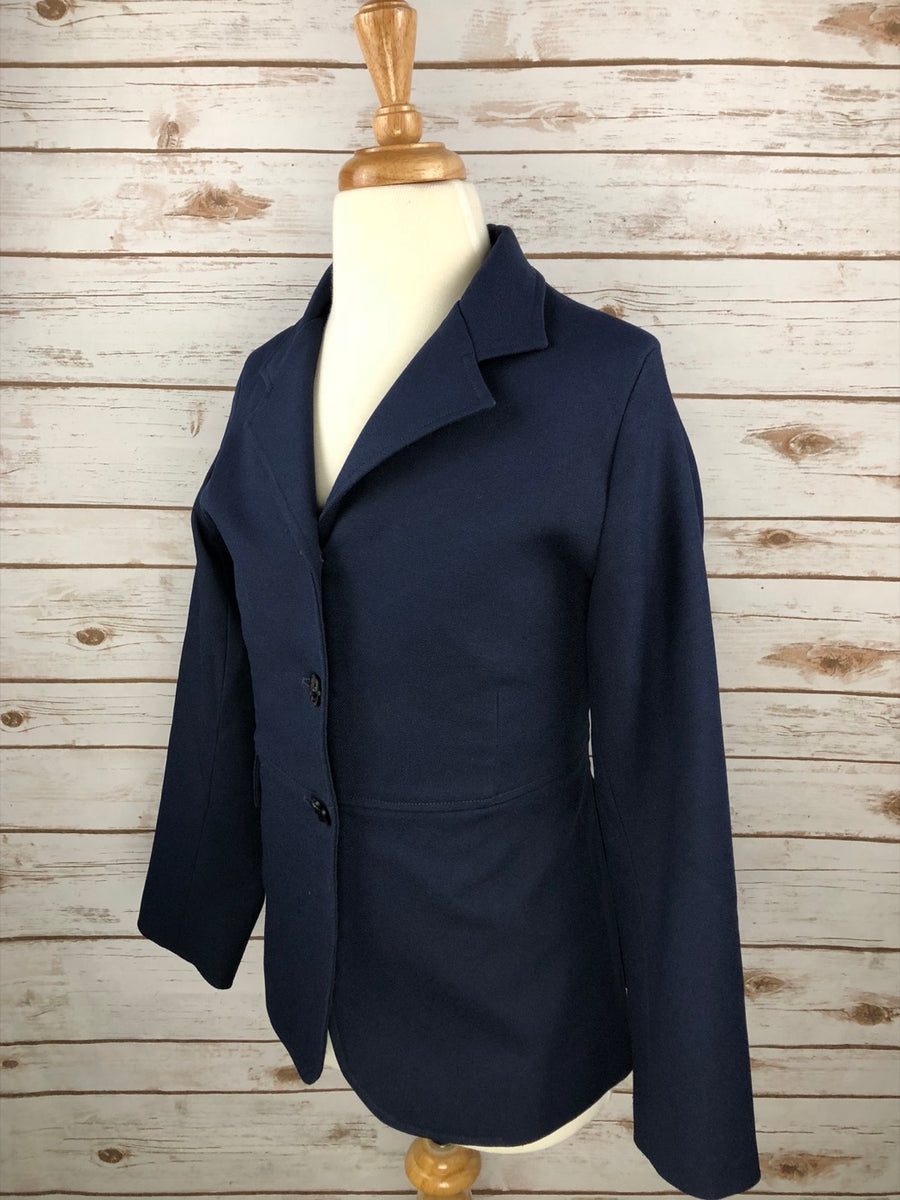 Dressage Jacket in Navy - Left Side View