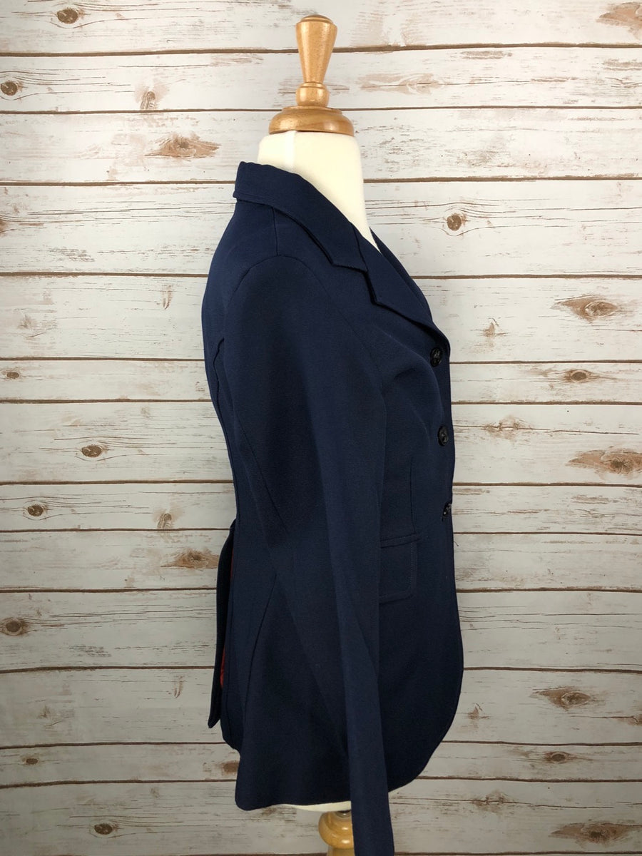 Dressage Jacket in Navy -  Right Side View