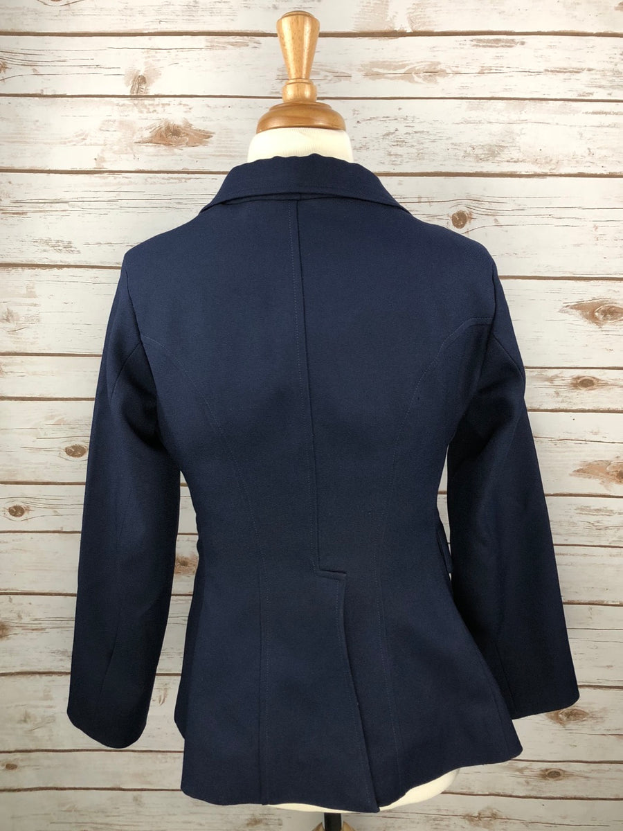Dressage Jacket in Navy -  Back View