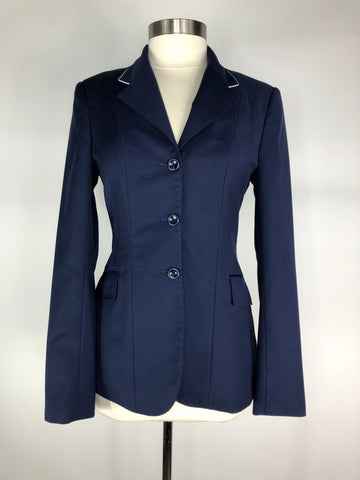 HABiT Show Jacket in Navy w/White Piping - Women's 8T | M