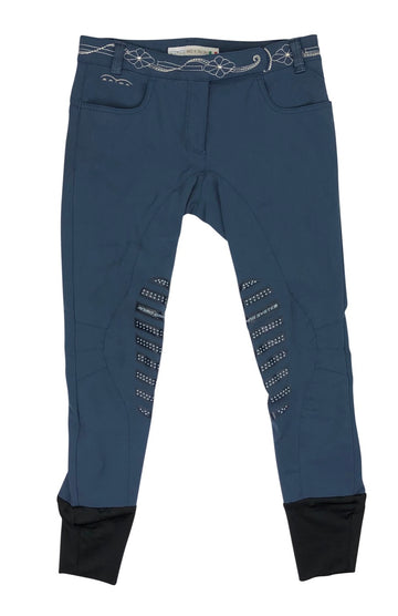 Animo Limited Edition Breeches in Navy with crystal detailing