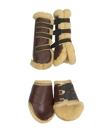 Lanz Anliker Switzerland Eq Boot Set in Brown - Horse Size