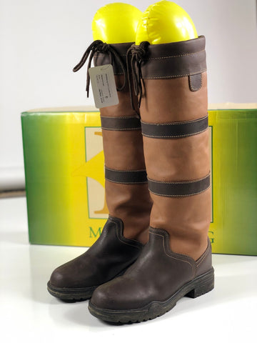 Middleburg H2O Country Boot in Brown - Over View
