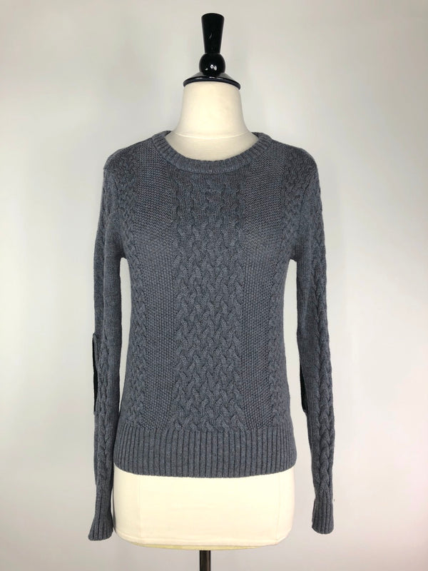 Noel Asmar Boyfriend Sweater in Grey - Women's XXS
