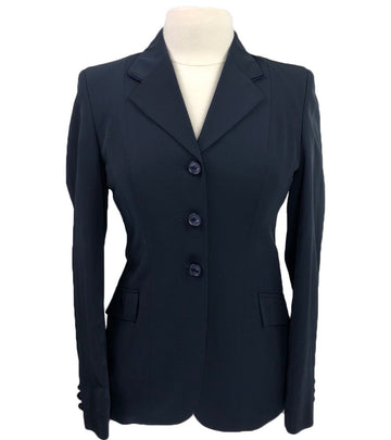 Grand Prix Techlite Hunt Coat in Navy - Women's 12R (US 6R) Slim | S
