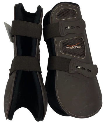 Tekna Injection Tendon Boots in Coco of inside and side