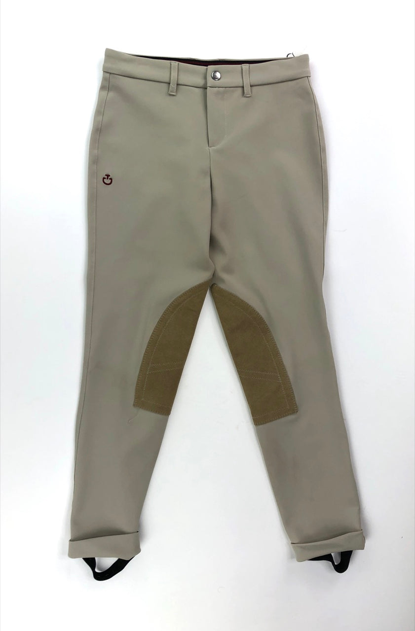 Cavalleria Toscana Jods in Tan - Children's 12
