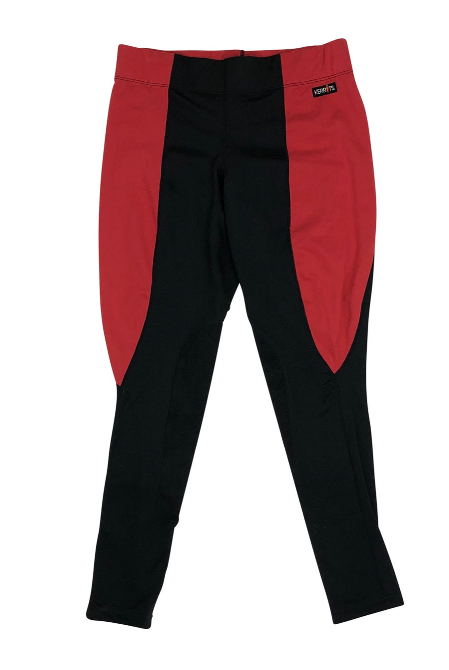 Kerrits Flow-Rise Performance Tights in Black and Red