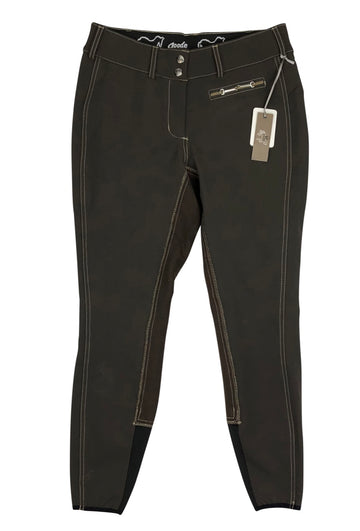 Goode Rider Iconic Breeches in Brown with tags
