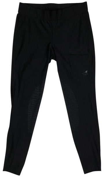SmartPak Piper Tights in Black with logo