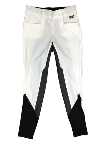 Kerrits Griptek II Fullseat Breeches in White and black