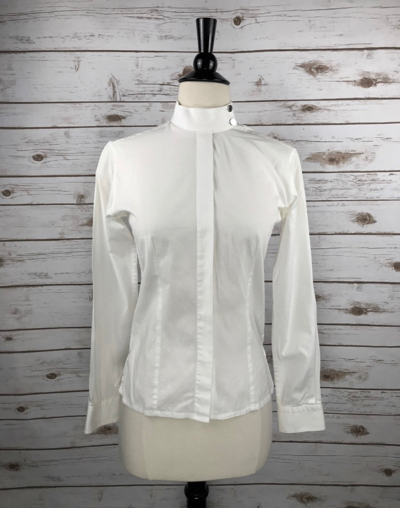 Hermes Competition Shirt in White - Women's FR 36
