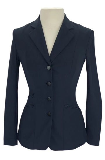 RJ Classics Orange Label Show Coat in Navy