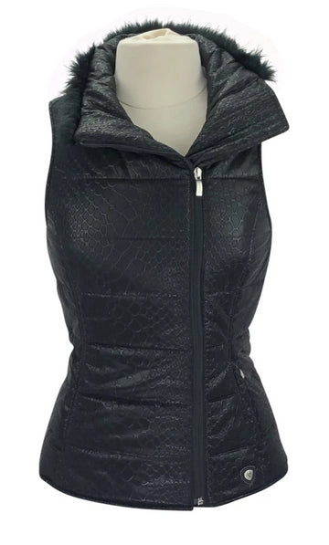 Ariat Pivot Vest in Black Crocodile