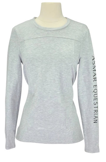 Noel Asmar Pull Over Sweater in Grey