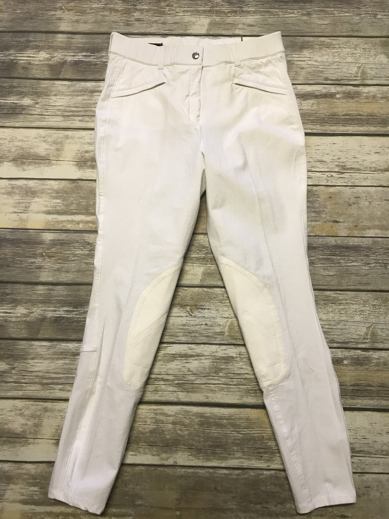 Ariat Performer Breeches in White - Women's 30L