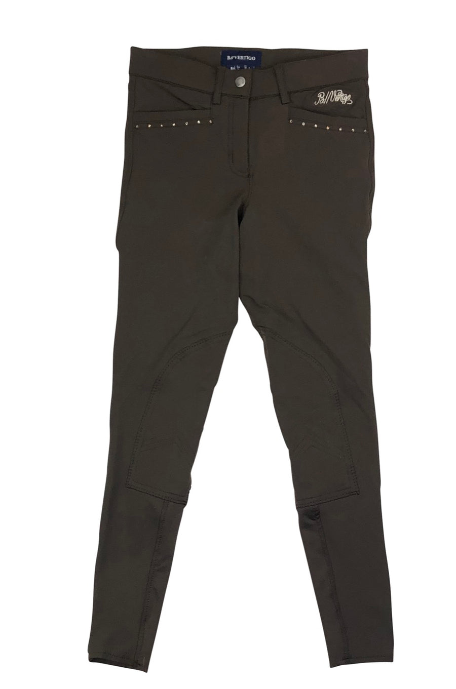 B Vertigo Olivia Girls Breeches in Brown