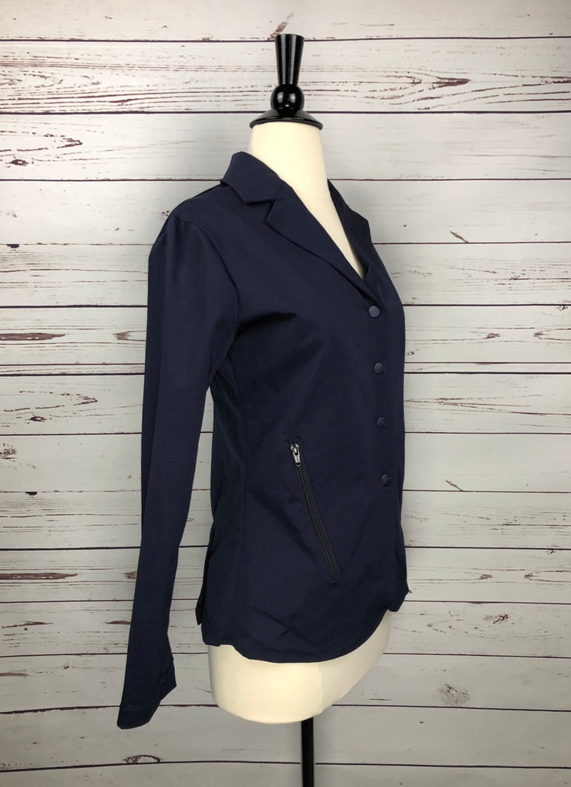 Equine Couture Addison Show Coat in Navy - Women's Small