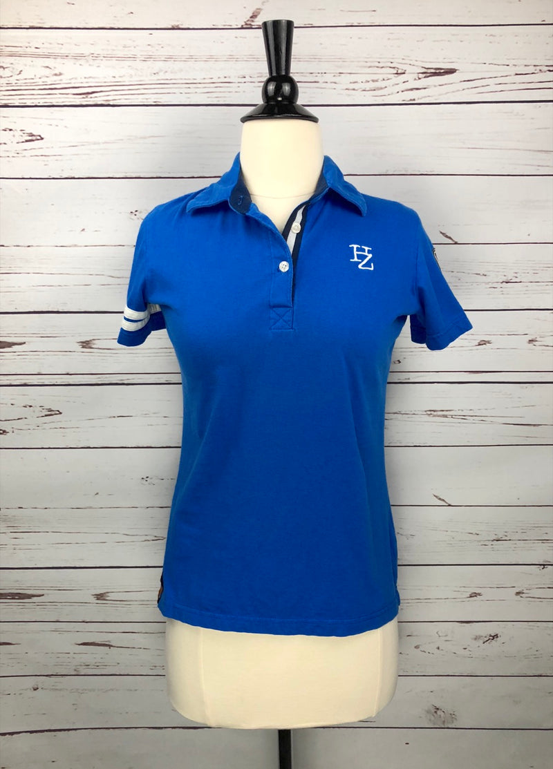 Horze Supreme Sport Polo in Blue - Women's XXS