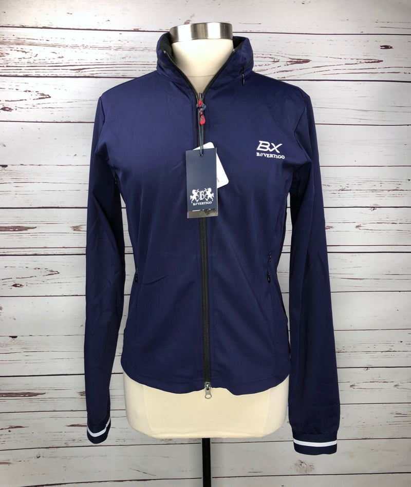 B Vertigo Luziana Softshell Jacket in Navy - Women's US 10