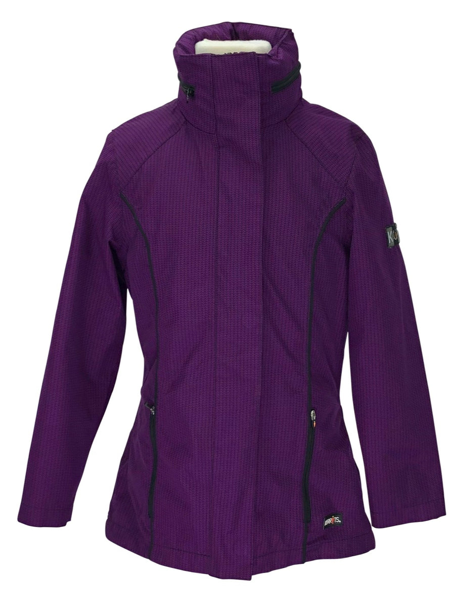 Kerrits Barn Jacket  in Purple - Children's M