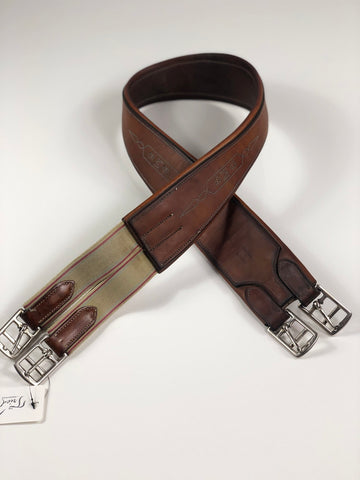 EquuSport Customized Girth in Brown - Overview