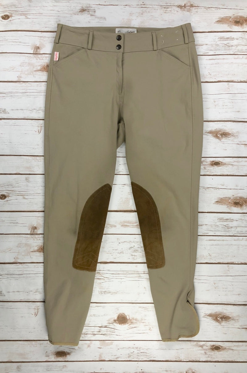 The Tailored Sportsman Trophy Hunter Breeches in Tan - Women's 32L