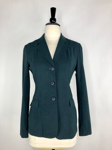 RJ Classics Monterey Show Jacket in Green Herringbone - Women's US 2 | XS
