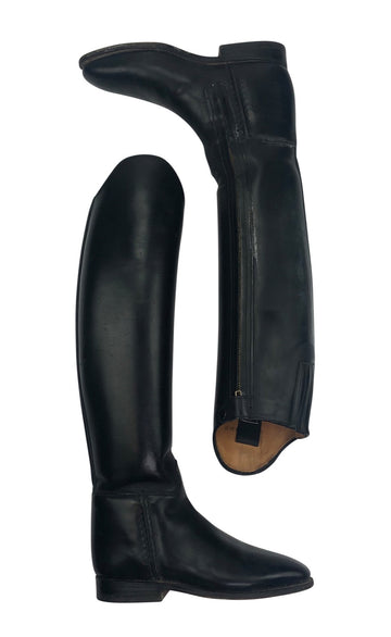 side view of Konigs Dressage Boot in Black