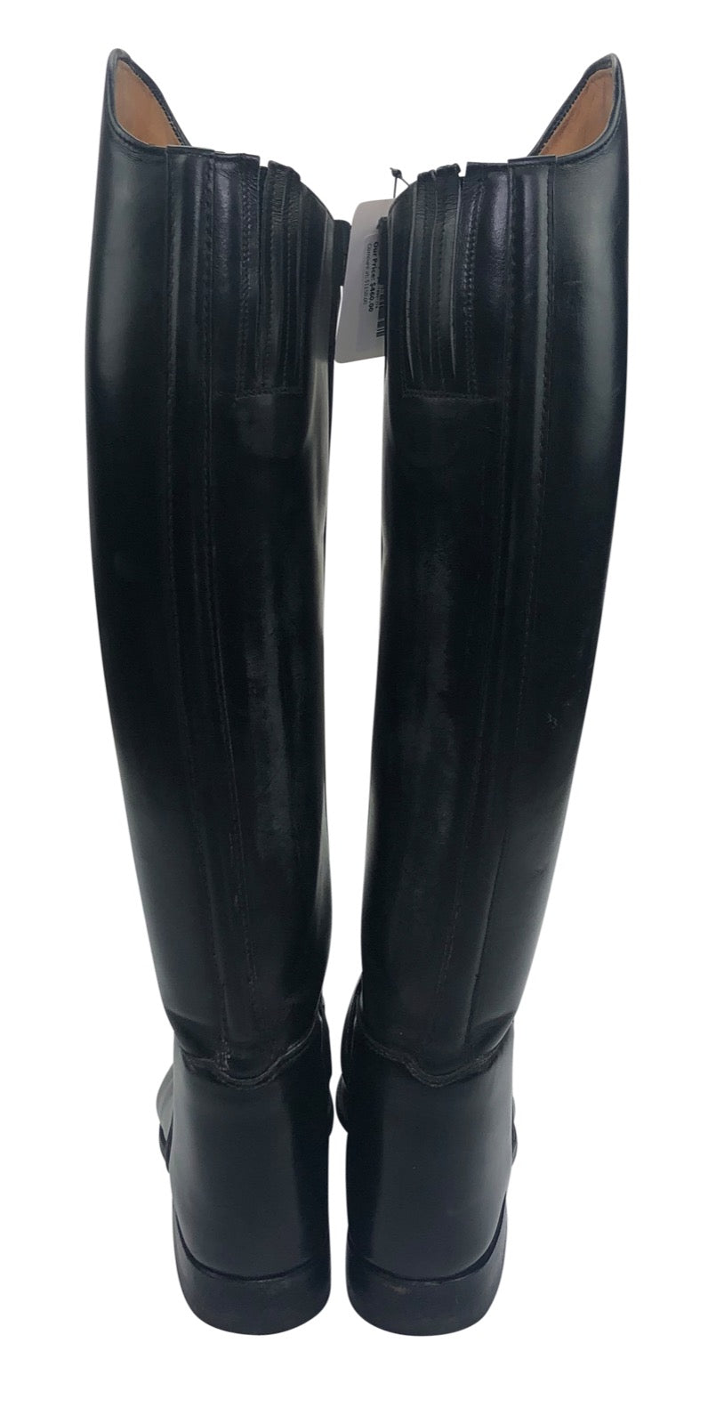 back view of Konigs Dressage Boot in Black