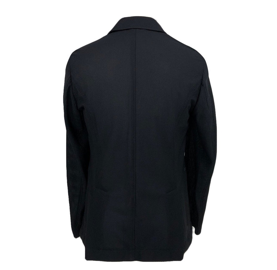 back view of alessandro albanese motionlite jacket size medium in black
