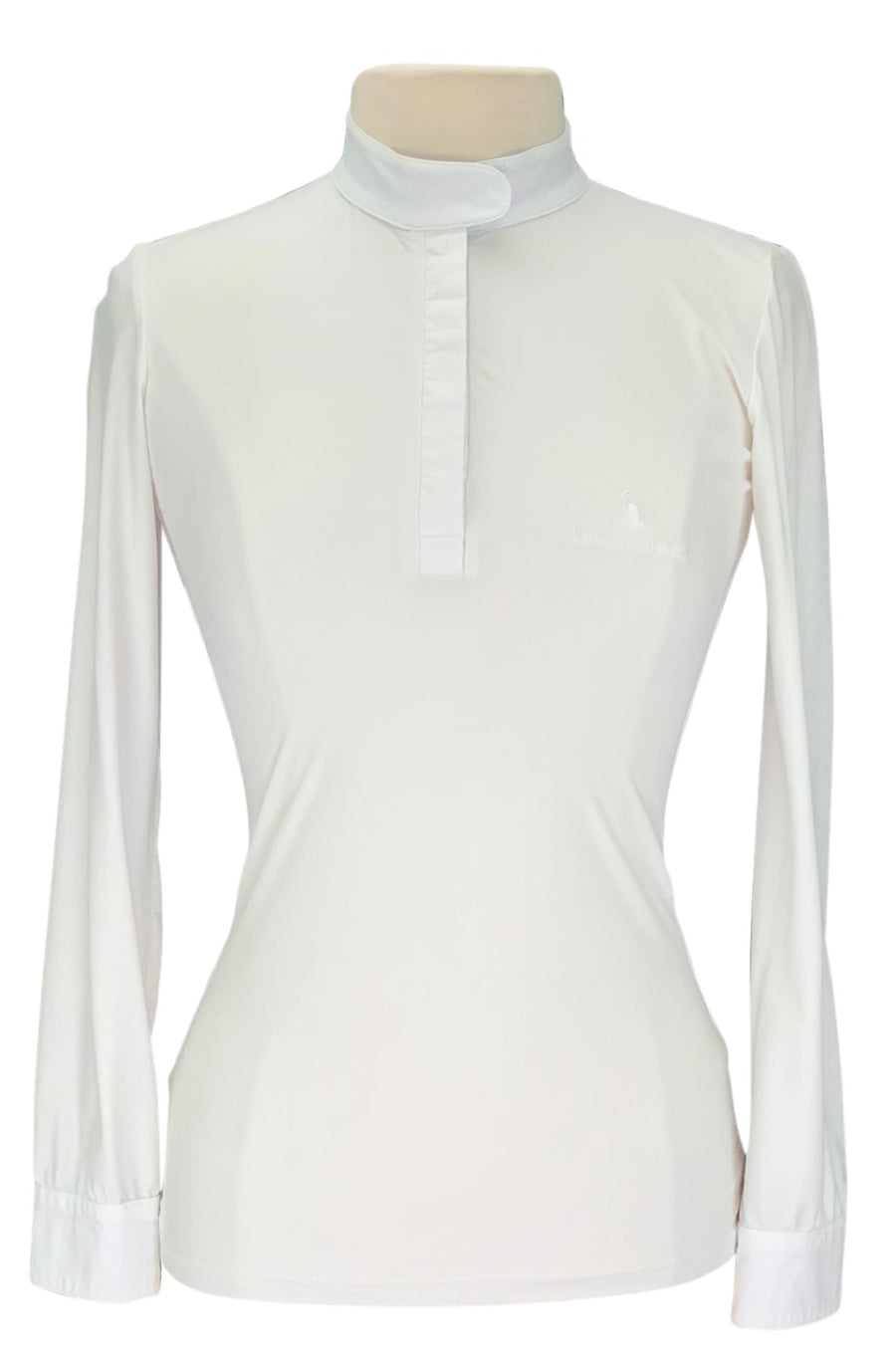 front view of Lotus Romeo Show Shirt in White