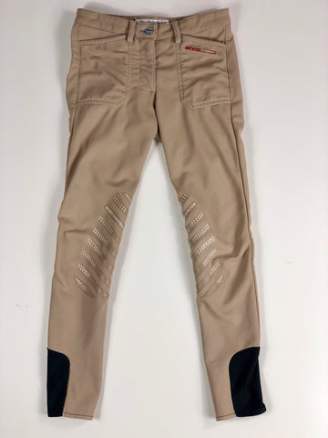Animo Pony Division Breeches in Beige- Front View