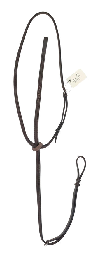 Edgewood Fancy Stitch Standing Martingale in Dark Havana