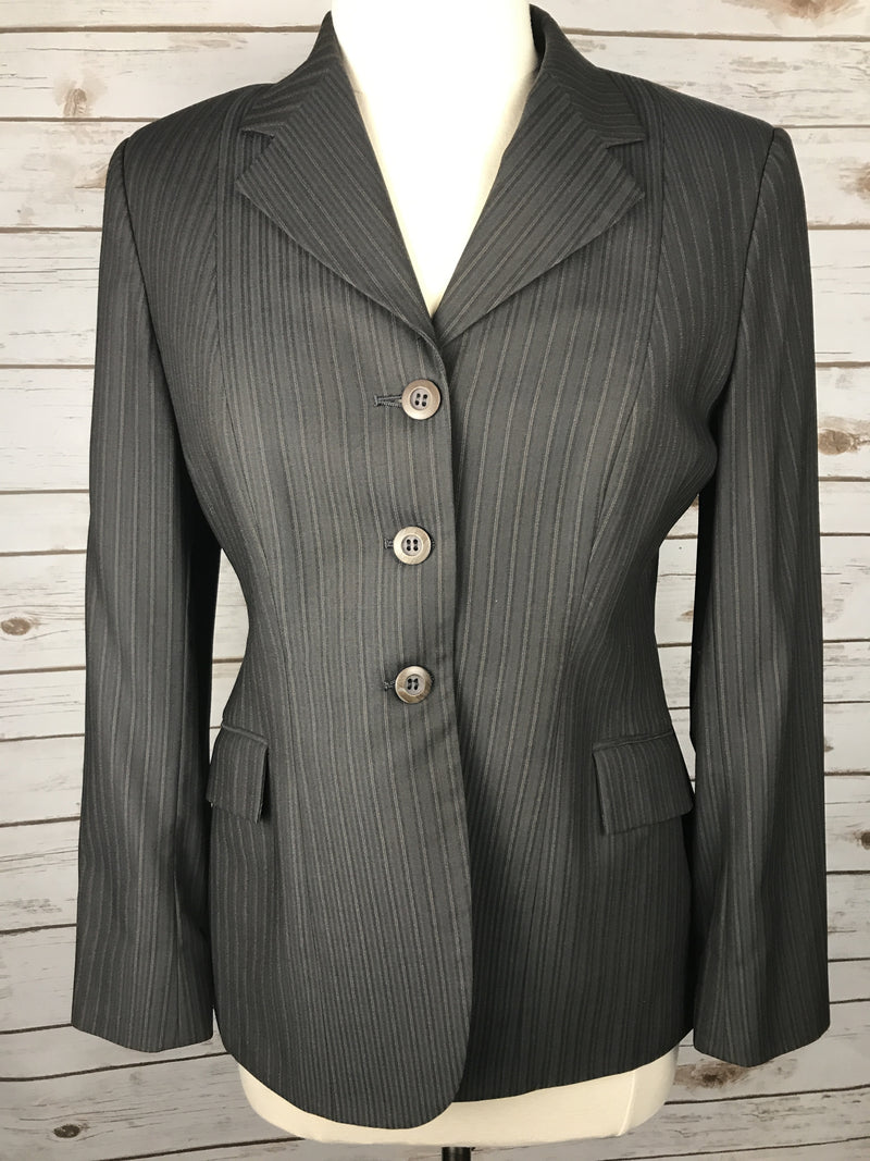 Grand Prix Hunt Coat in Grey/Brown - Women's 14R/US8