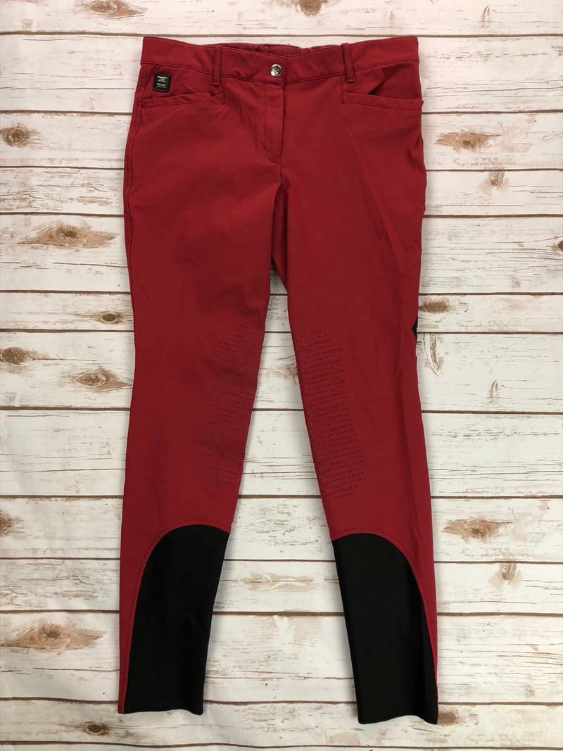 Equiline Ash Breeches in Red - Women's IT 48