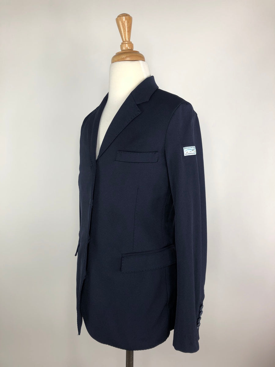 Animo Pony Division Show Jacket in Navy - Children's 12 | M