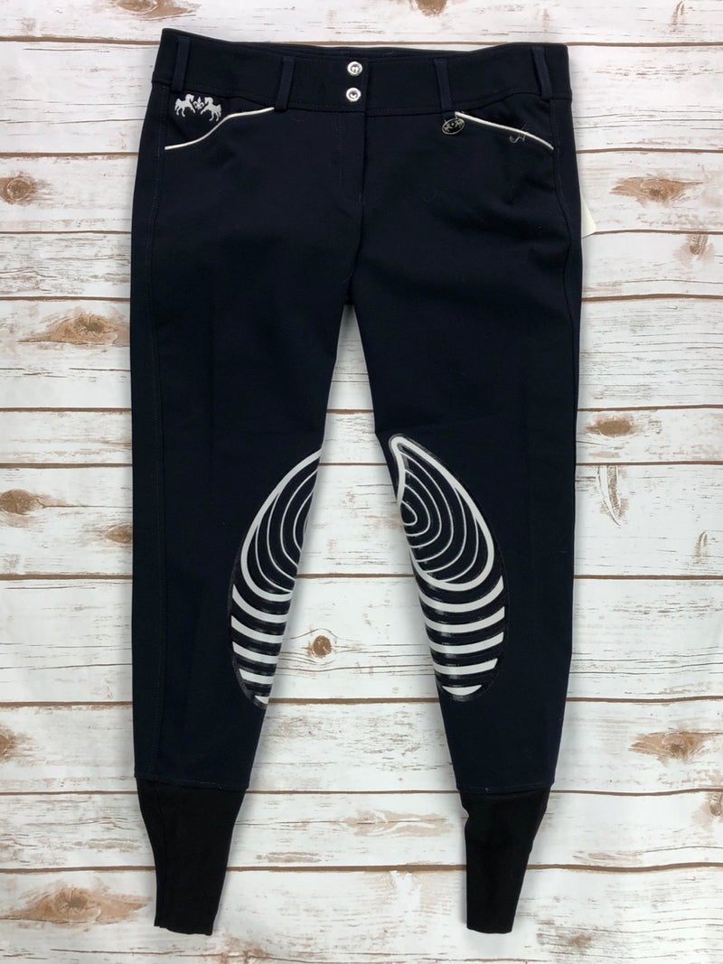 Equine Couture Brittni Breeches in Navy - Women's 30R