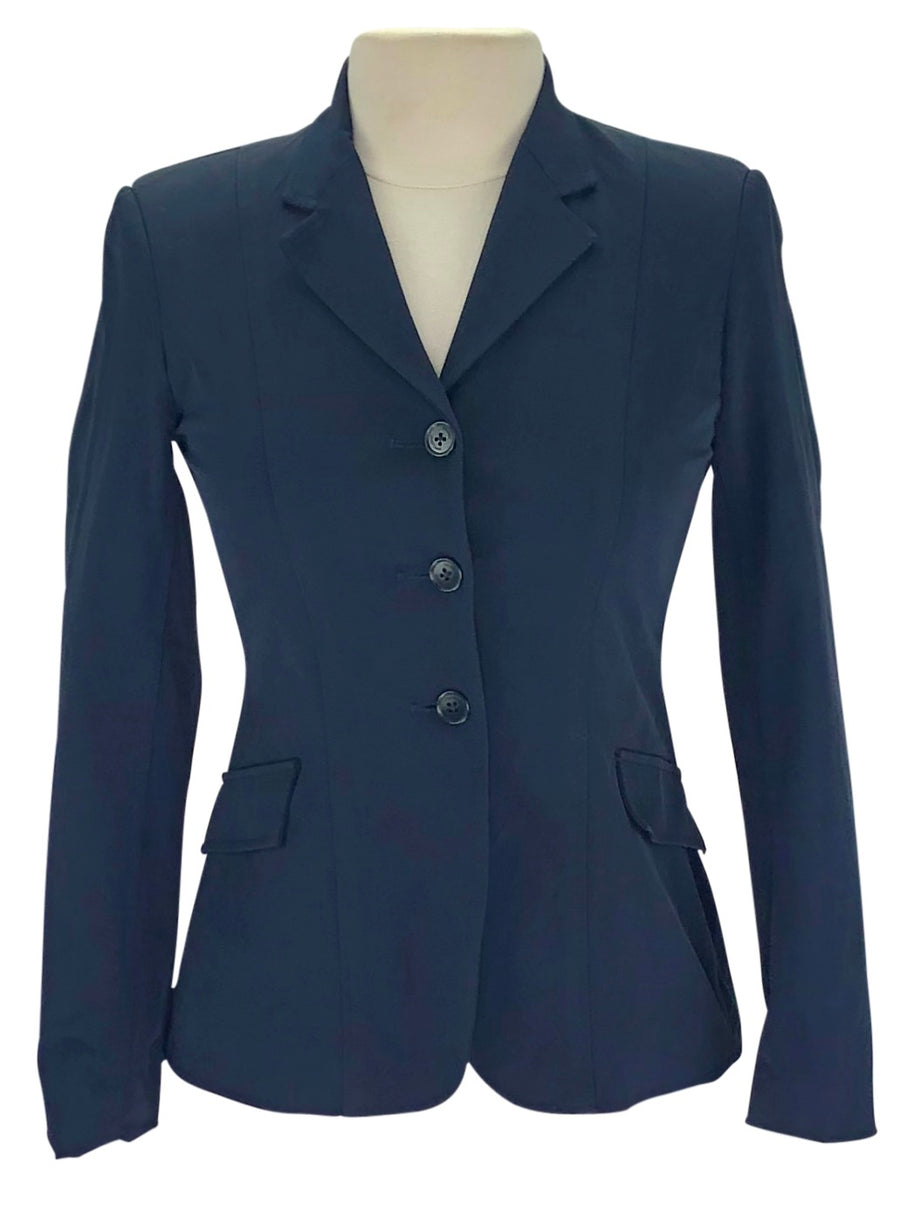 Tailored Sportsman Stretch Hunt Coat in Navy