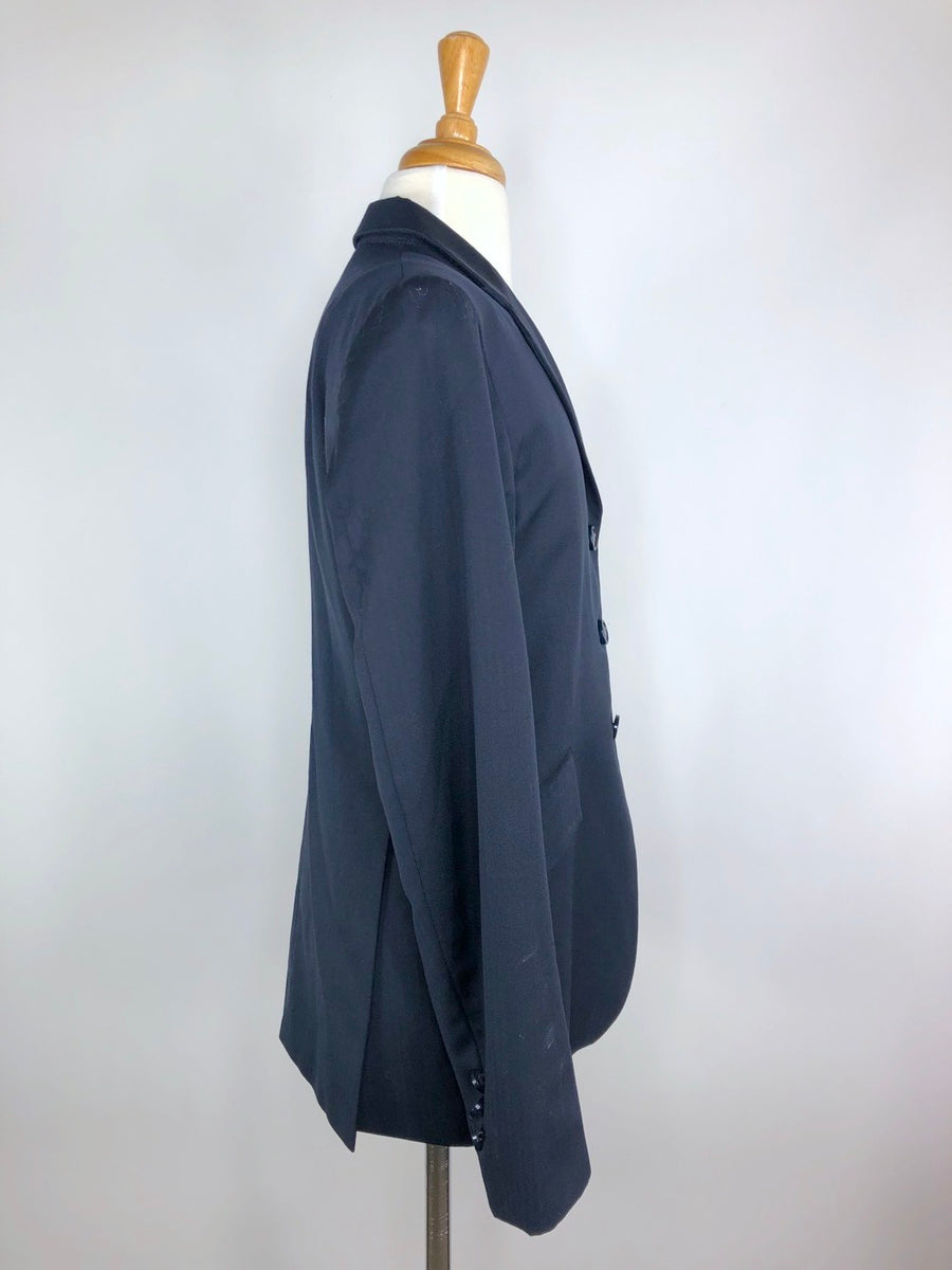 Grand Prix Extreme Stretch Hunt Coat in Navy -Right Side View