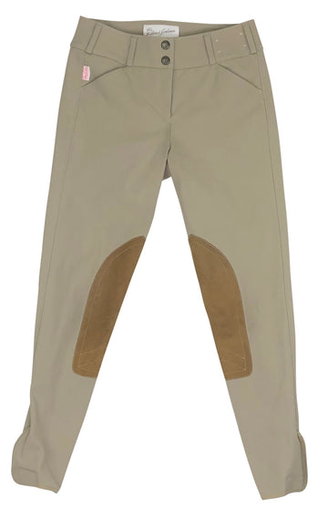 front view of Tailored Sportsman Trophy Hunter Breeches in Tan