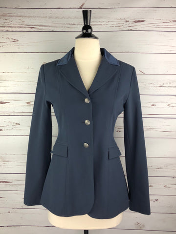 Goode Rider Competition Jacket in Navy - Front View