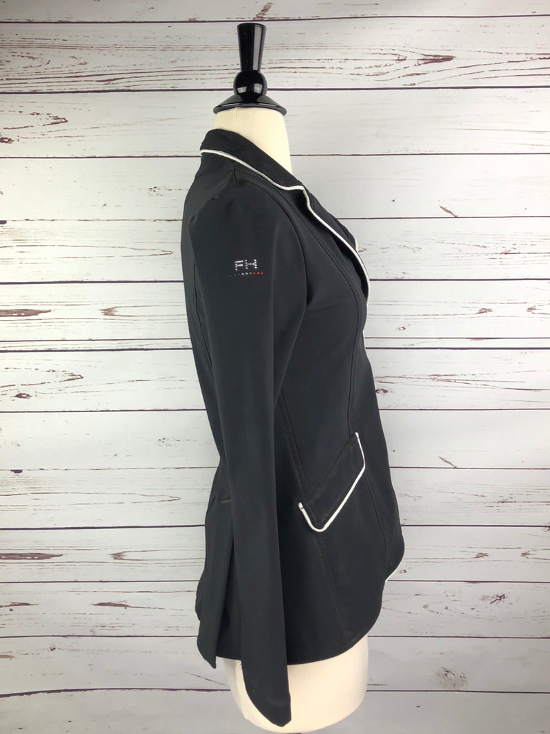 For Horses Show Jacket in Black/White - Women's XS