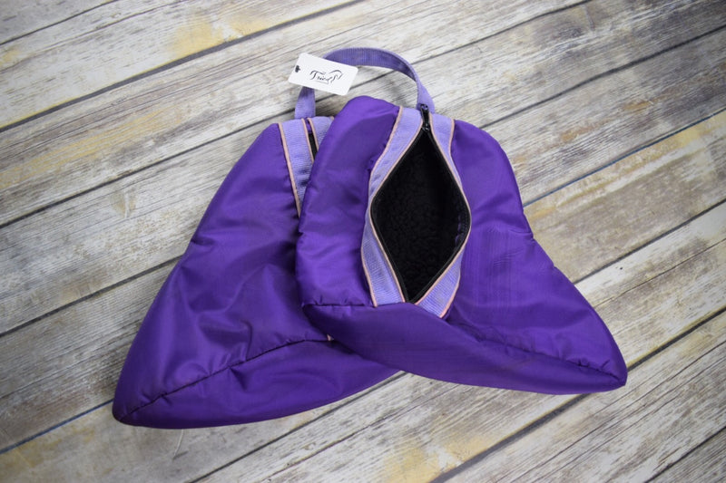 Paddock Boot Bag in Purple - One Size