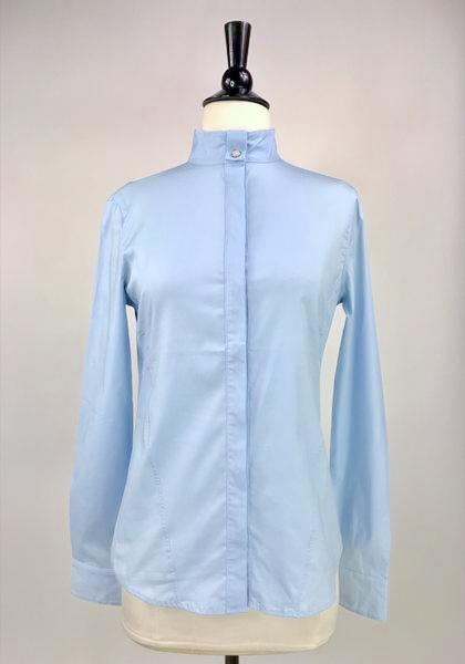Callidae Show Shirt in Sky Blue -  Front View